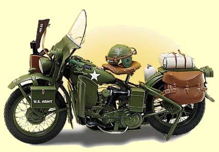 Harley Davidson Wla Moteur